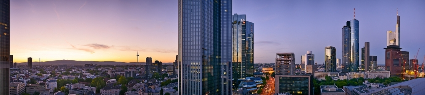 Work-Life-Balance: Panorama Westend / Bankenviertel  [no. 1669]