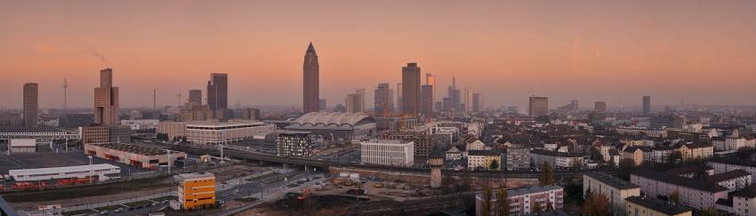 Winter Evening Panorama  [no. 1436]