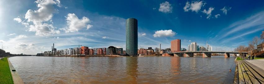 Westhafen@Day - Panorama