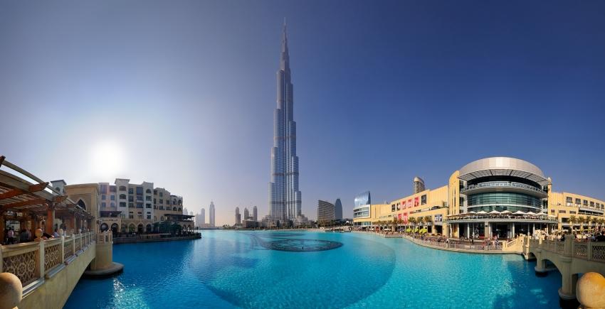 Dubai - Burj Khalifa Panorama [no. 1594]