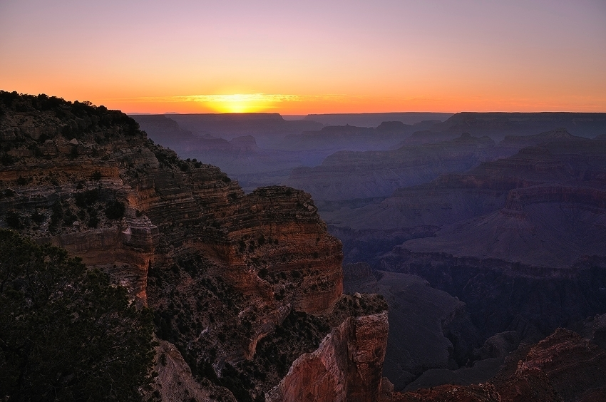 Grand Canyon after Sunset  [no. 418]