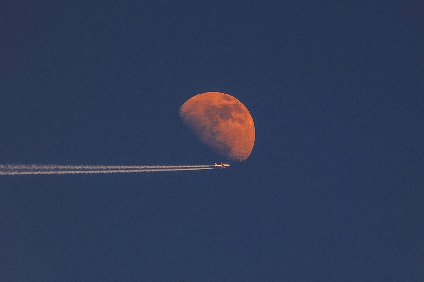 Flying' to the moon [no. 1620]