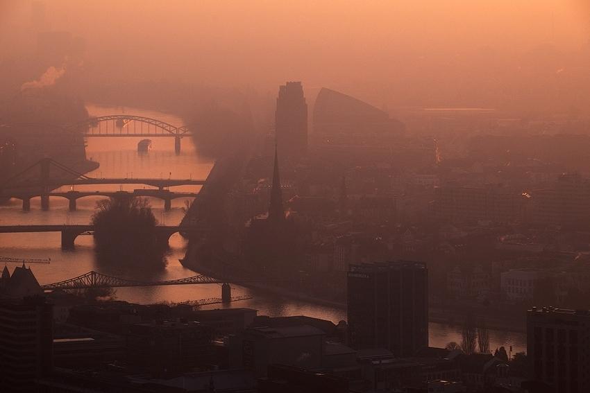 Dawn at Main River [no. 1259]