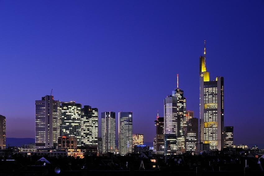 Blue Hour Skyline [no. 1369]
