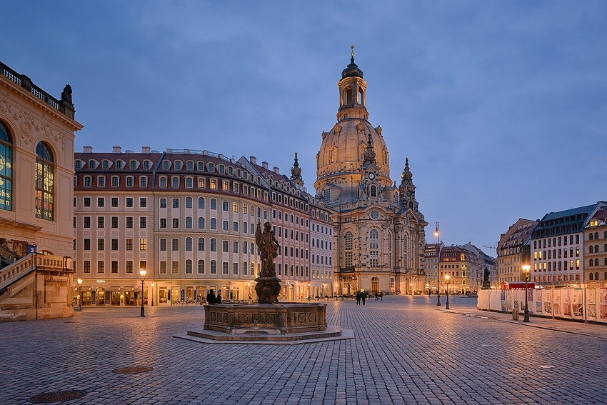 Dresden - Neumarkt & Frauenkirche [no. 1969]