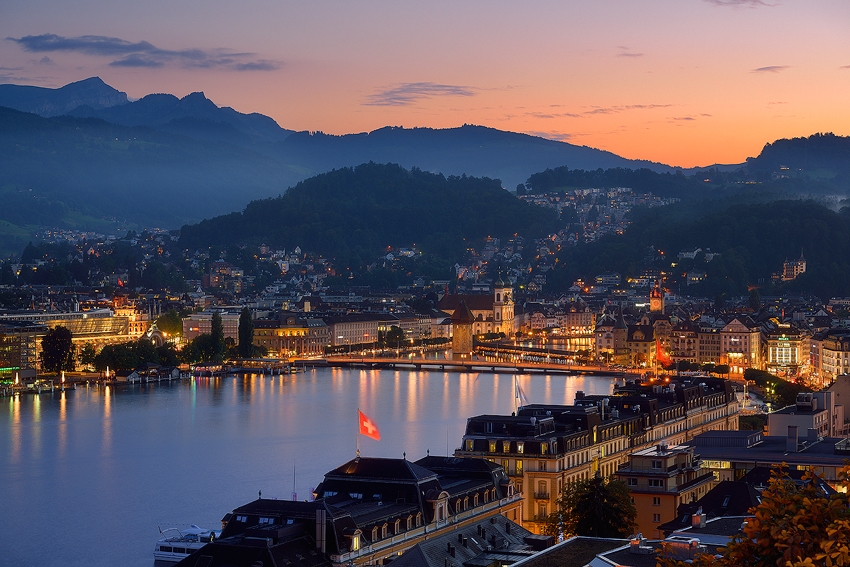 Luzern Evening [No. 2107]