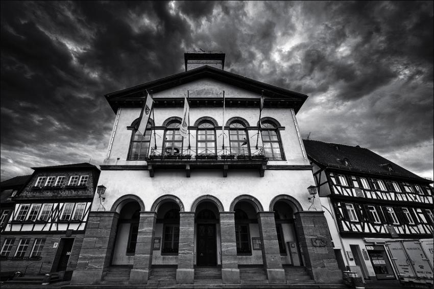 Germany: Rathaus Seligenstadt  [no. 497]