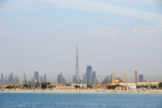 Jumeirah Beach and Dubai Skyline [no. 1649]