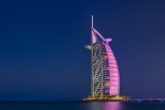Burj al Arab in Pink [No. 1862]