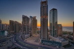 Sunset at Dubai Marina [no. 1790]