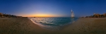 Jumeirah Beach Sunset - 360°-Panorama [no. 1802]