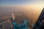 Sunset at Burj Khalifa [no. 1460]