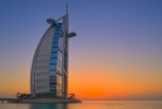Burj al Arab Sunset  [no. 1741]
