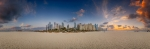 Dubai Marina Beach - 360°-Panorama [no. 1925]
