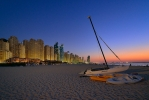 Dubai - Evening at the Beach [no. 2077]