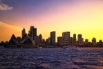 Sydney Harbour Skyline  [no. 616]