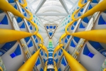 Atrium of Burj al Arab, Dubai [no. 1644]