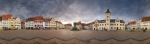 Freiberg/Sachsen Marktplatz - 360°-Panorama [no. 1663]