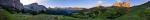Morgen am Sellajoch - Panorama [no. 1339]