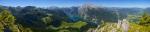 Berchtesgadener Alpen - Panorama Blick vom Jenner  [no. 1684]