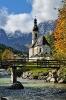 Bayern: Ramsauer Kirche (2)